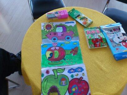 南通朗驰东南汽车儿童绘画优秀作品